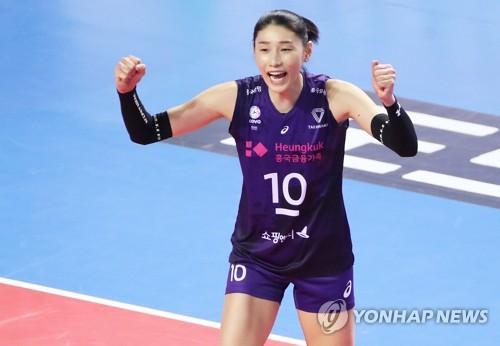 金软景职业生涯首获韩职排全明星最高票数