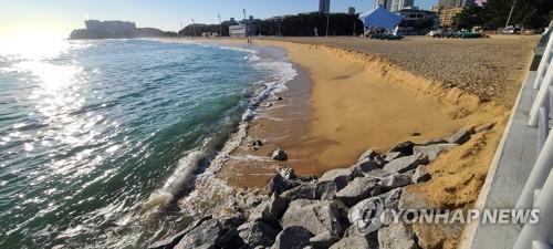 束草海岸侵蚀现象严重
