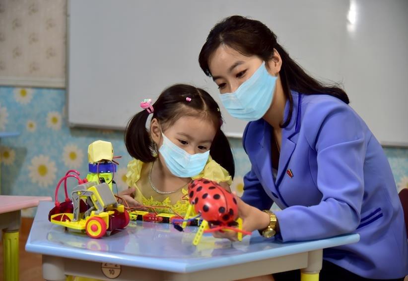 朝鲜幼儿园
