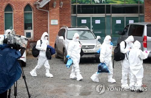 韩国各地零星感染不断 宗教设施成疫情高发地