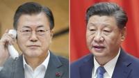 详讯:韩中元首商定为促成习近平访韩保持沟通