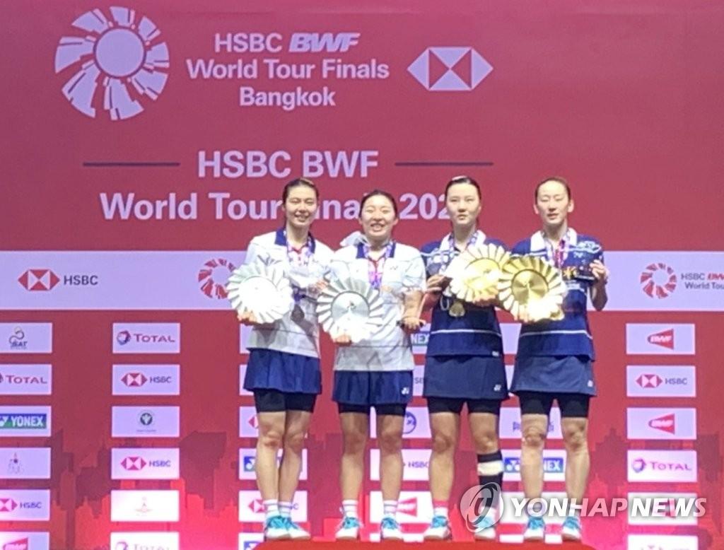 东奥羽毛球女双四强韩国队锁定两席