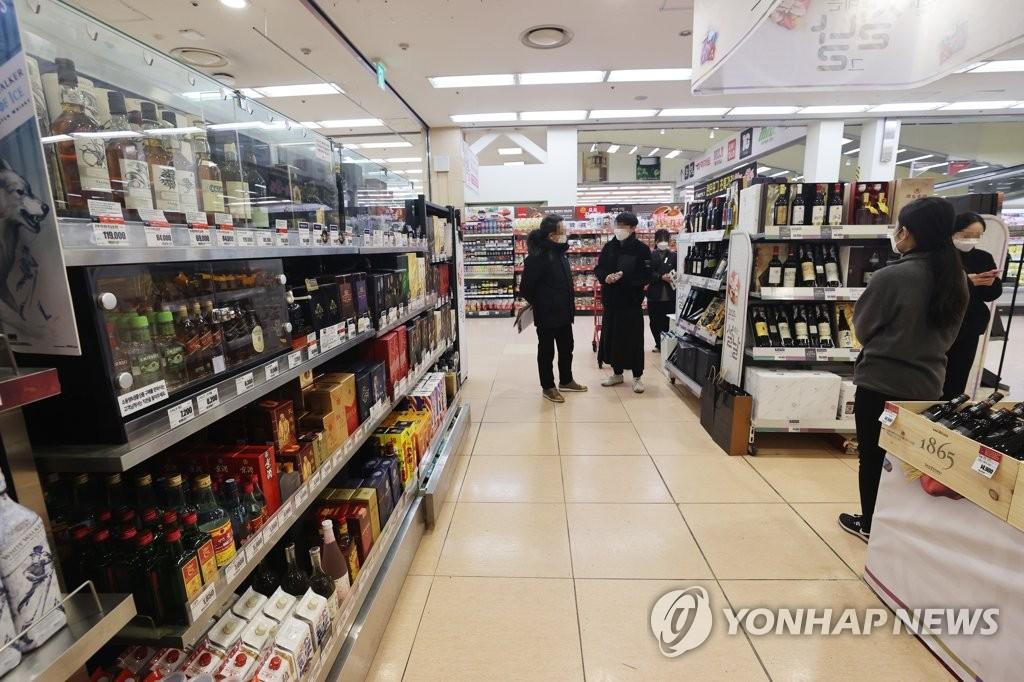 韩国2020年酒类进口量同比减少13.7%