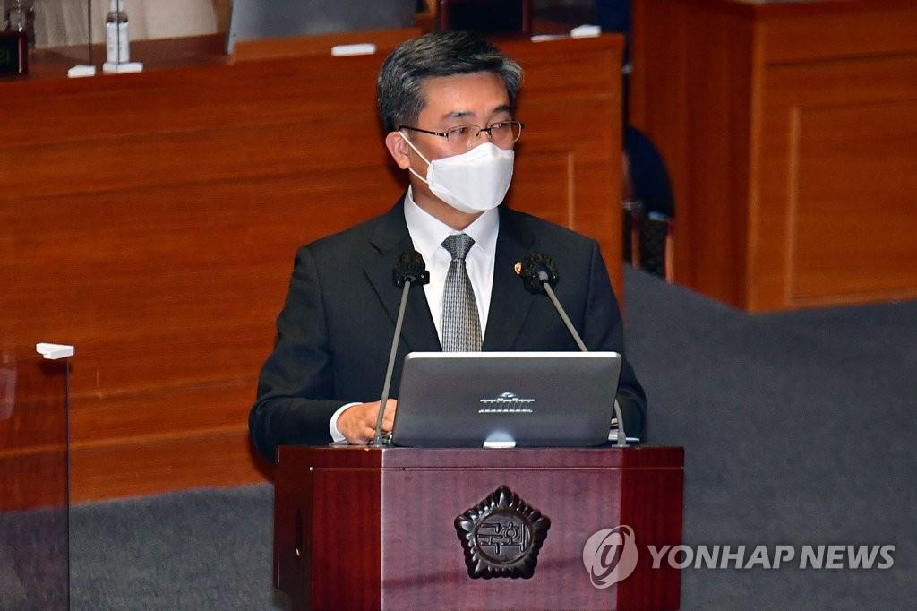 韩防长:为如期举行韩美军演准备
