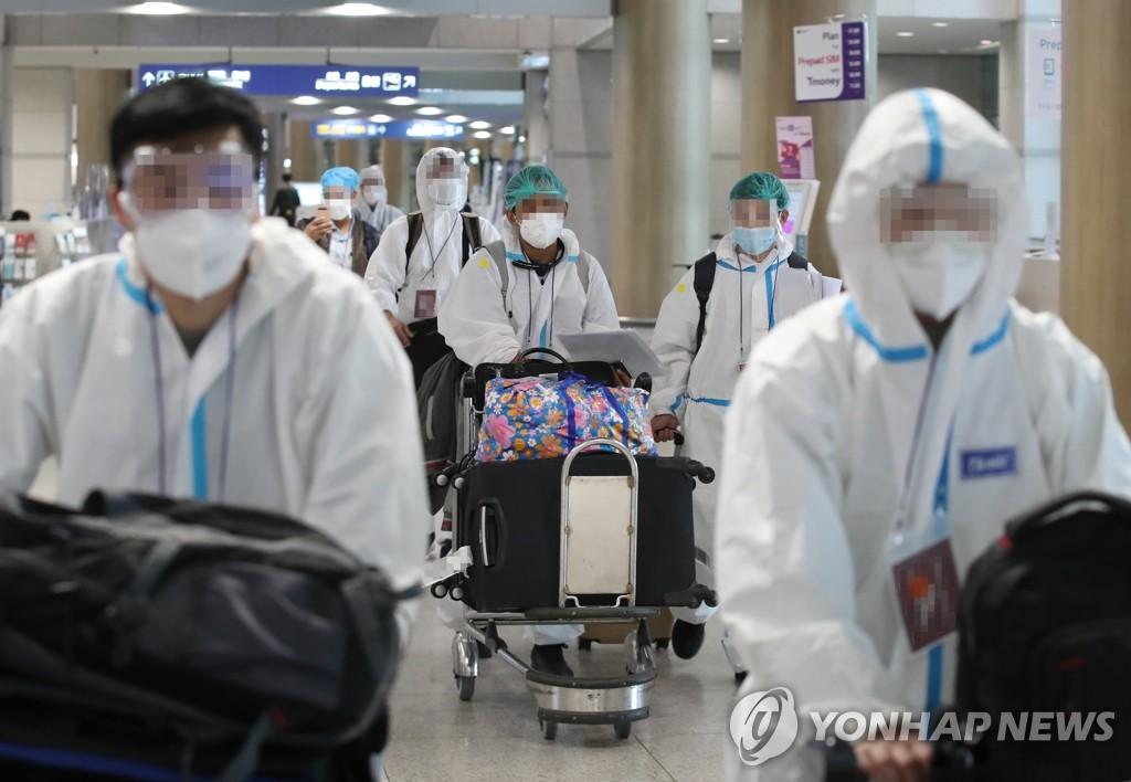 韩国新增5例变异新冠病例 累计99例