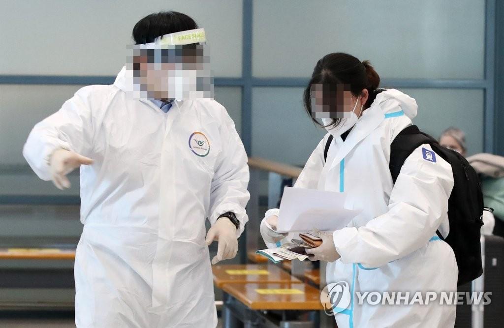 资料图片:仁川国际机场第一航站楼到达厅 韩联社