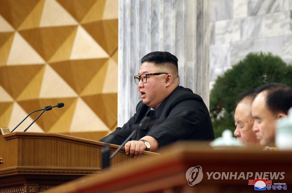 朝鲜劳动党八届二中全会闭幕 金正恩批经济规划不切实际