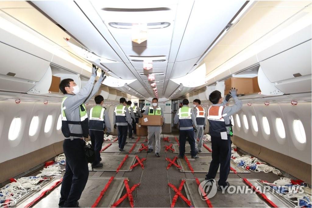 韩亚航空再将两架客机改装为货机