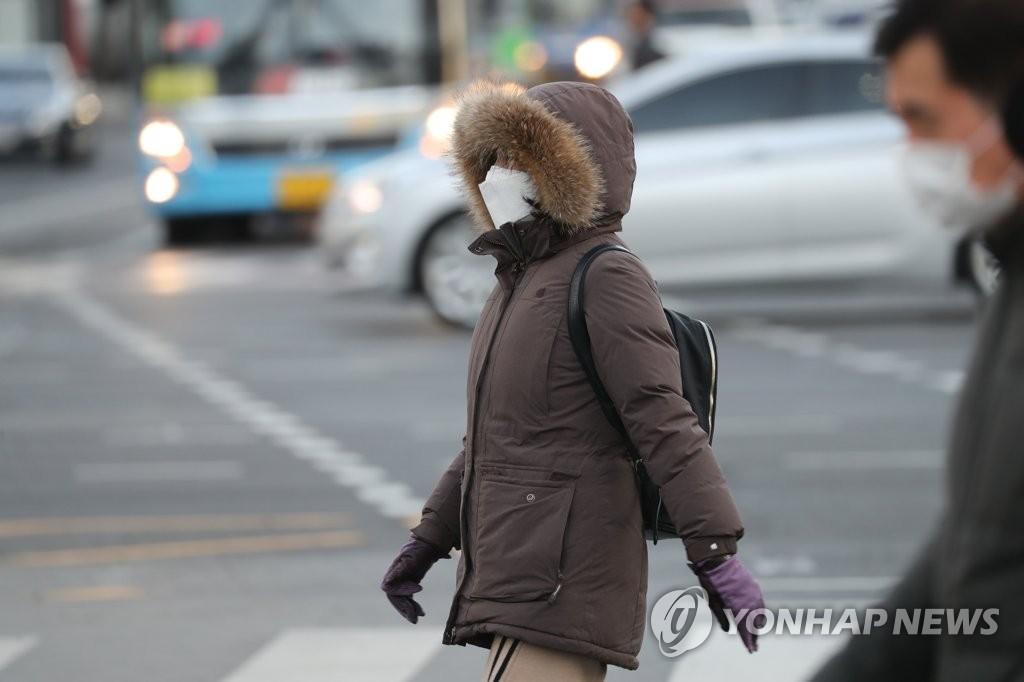 寒冷上班路