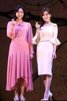 演员郑仙雅和罗河娜