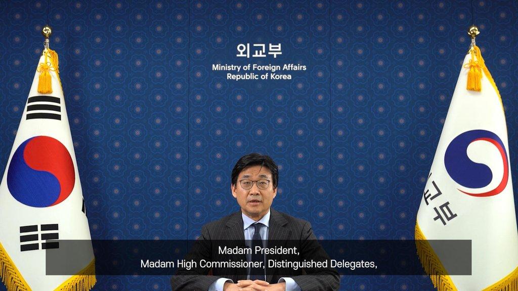 韩国在联合国人权委员会会议强调慰安妇问题