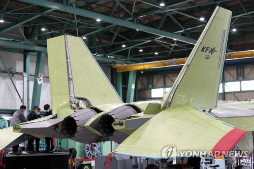 韩新型战机KF-X试制品