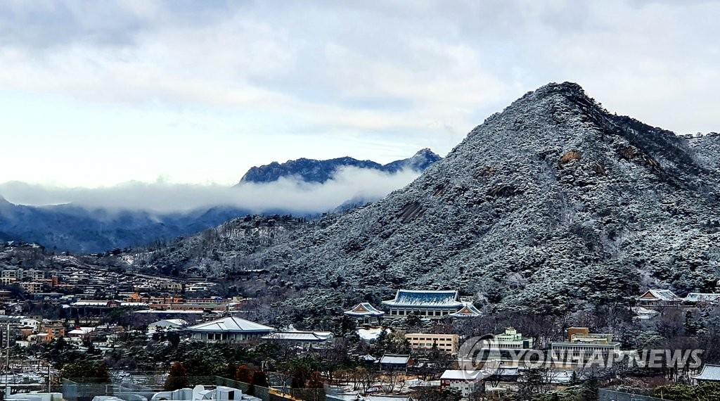 雪后的首尔
