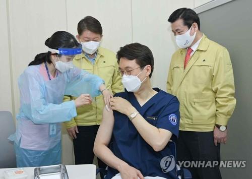 接种辉瑞疫苗