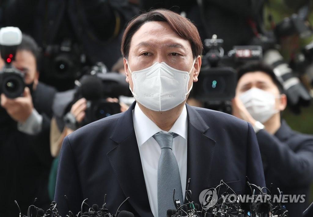 韩国检察总长尹锡悦 韩联社