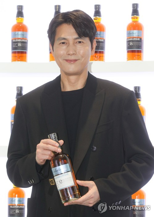 郑雨盛代言百龄坛威士忌