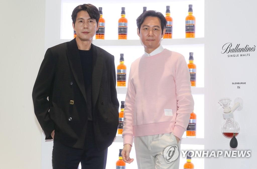 演员郑雨盛和李政宰