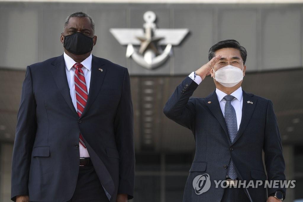 详讯:美防长称中朝威胁使韩美同盟空前重要