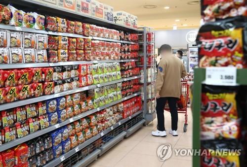 韩国方便面行业第一季度业绩同比下滑