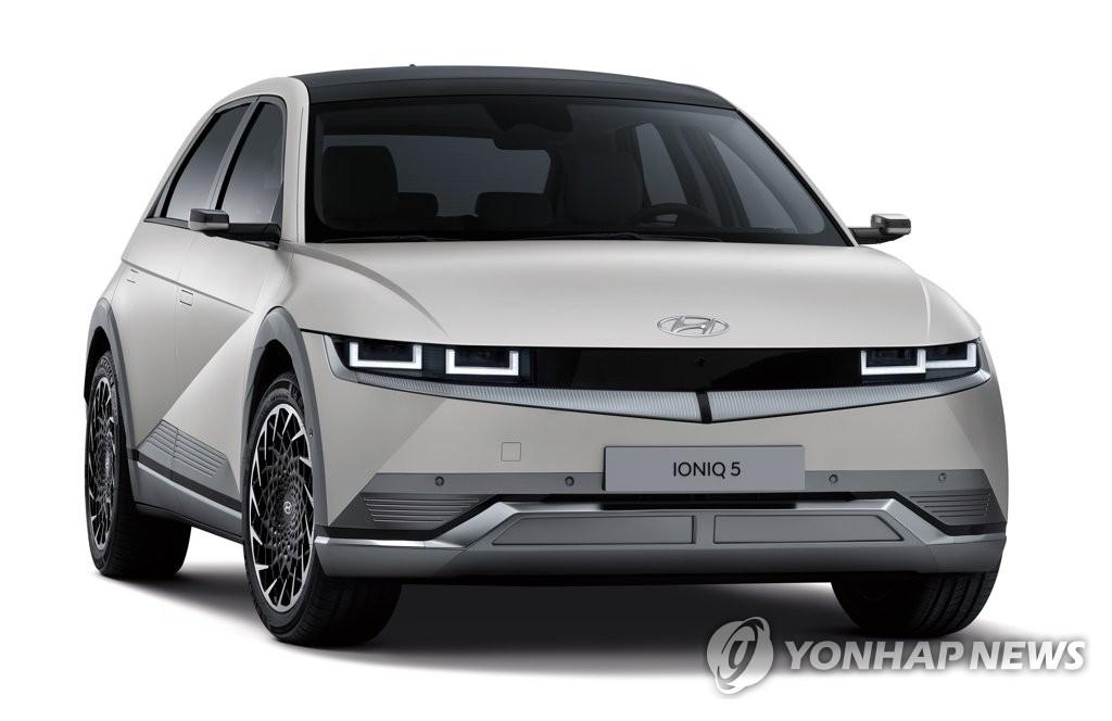 资料图片:艾尼氪5 韩联社/现代汽车、起亚供图(图片严禁转载复制)