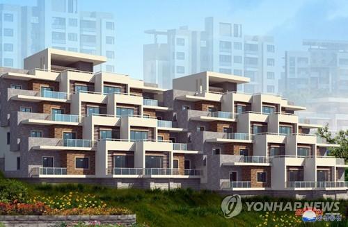 """朝鲜平壤高级住宅区行政区定名""""琼楼洞"""""""