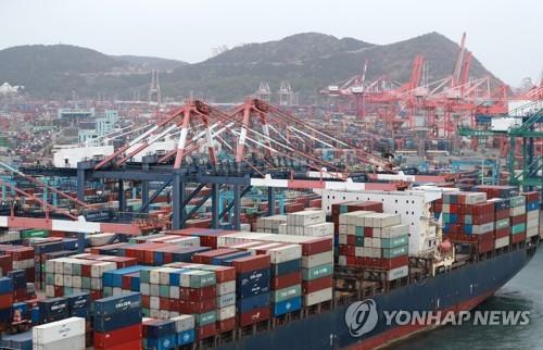 韩国5月出口同比增45.6%