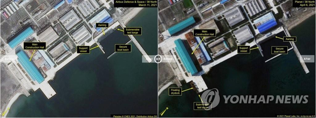 韩军密切关注朝鲜潜射弹道动向