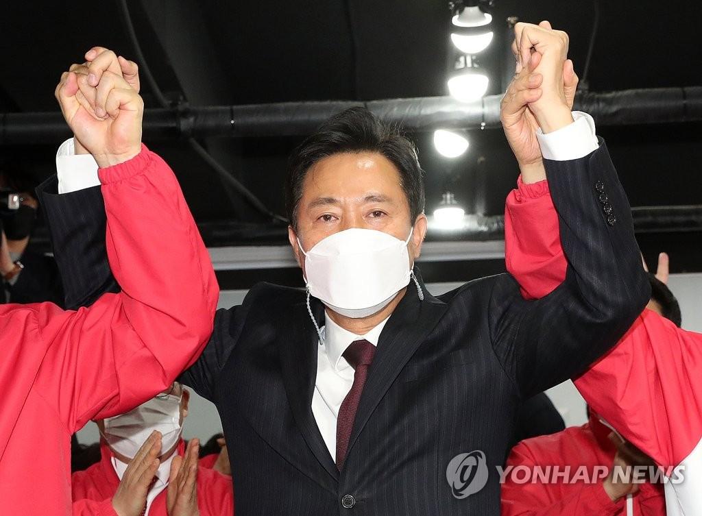 详讯:韩京釜市长补选出口民调显示最大在野党领先