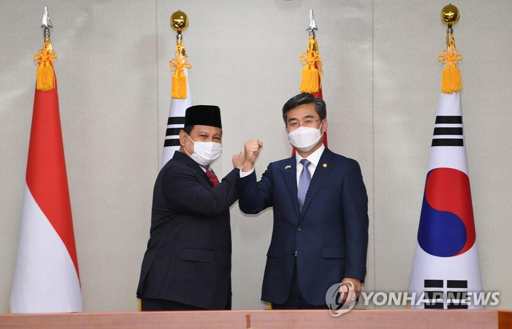 韩国印尼防长会晤