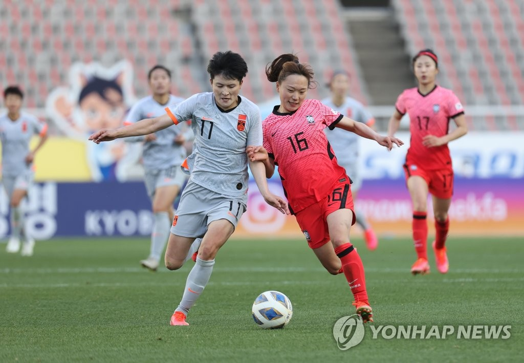 韩国女足今赴华争夺东京奥运参赛权