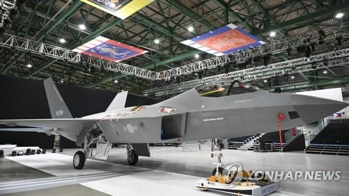 国产战机KF-21试制品出库