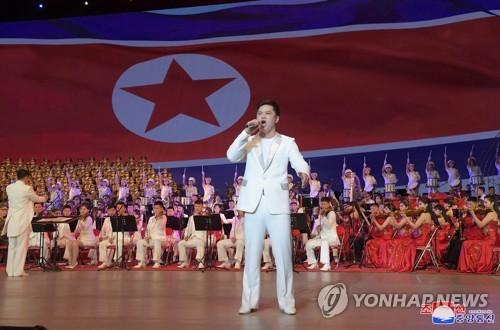 朝鲜细胞书记大会纪念演出