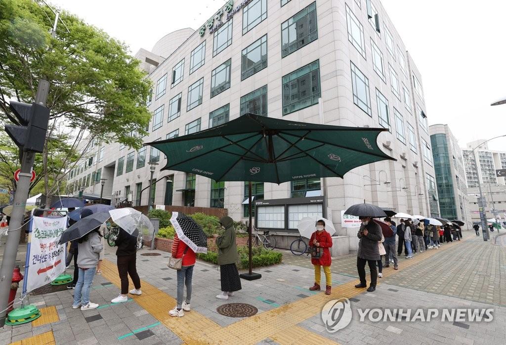 简讯:韩国新增542例新冠确诊病例 累计110688例