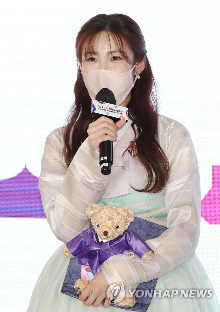 歌手兼演员全孝盛担任2021韩服宣传大使