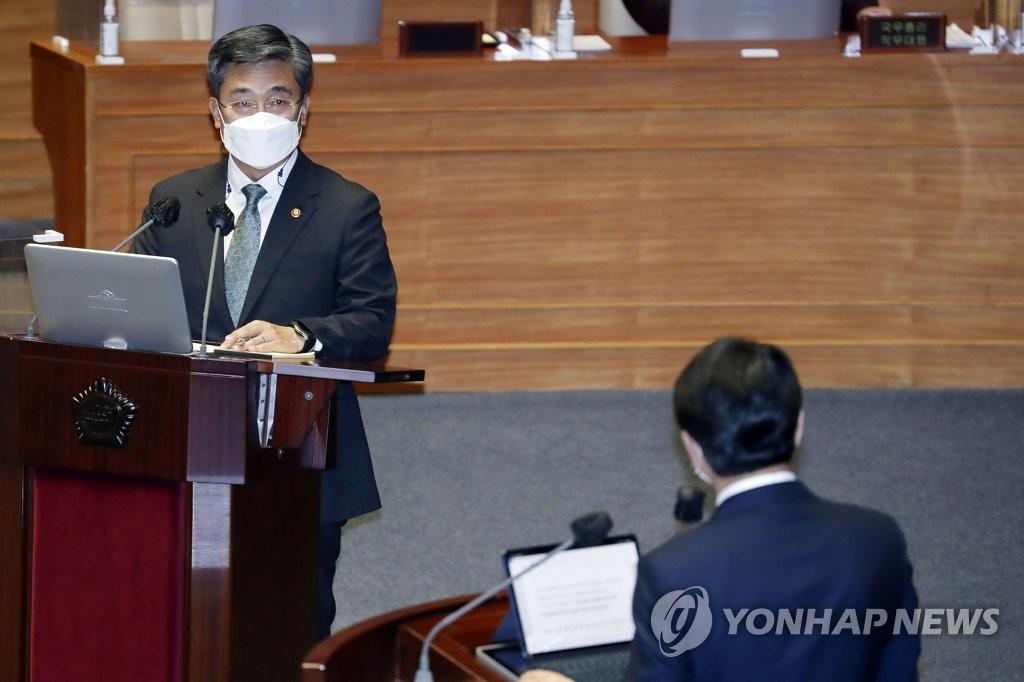 韩防长:有必要再上调士兵工资