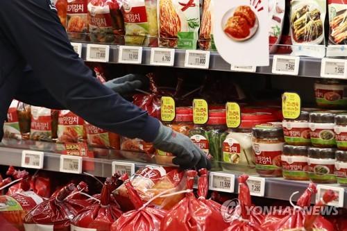 韩6月自华泡菜进口额较近三年同月均值减少13%