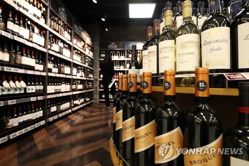 韩国去年葡萄酒进口额同比增27.3%创新高