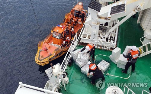 海警抓捕中国香烟走私犯