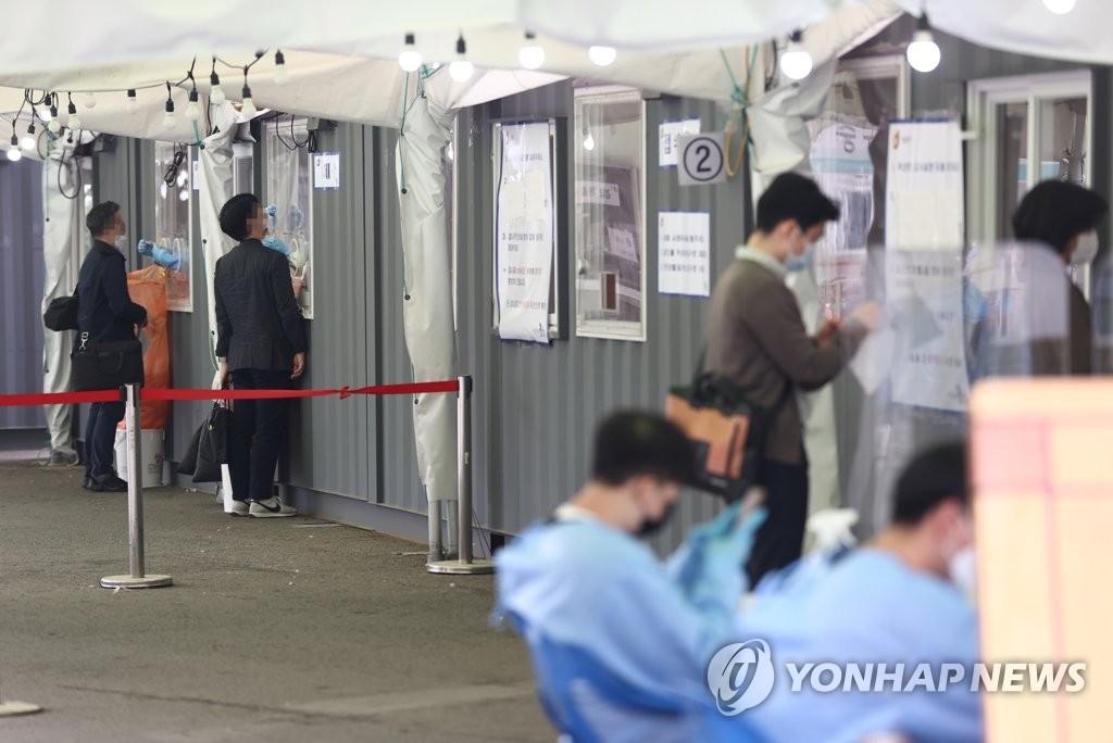 韩国新增627例新冠确诊病例 累计122634例