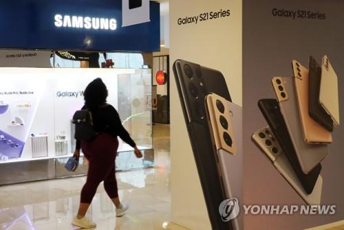 三星手机第一季市占率21.7%居全球榜首