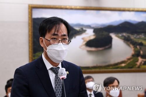 韩海水部长官被提名人宣布放弃提名资格