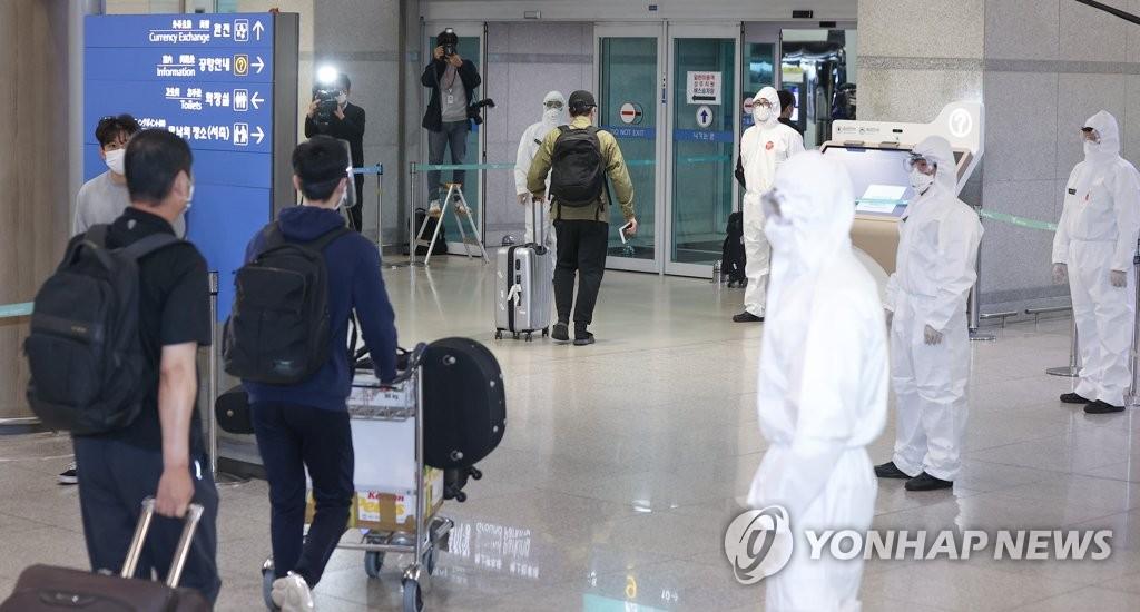 自印入韩者中16人确诊新冠 含1例印度变异株