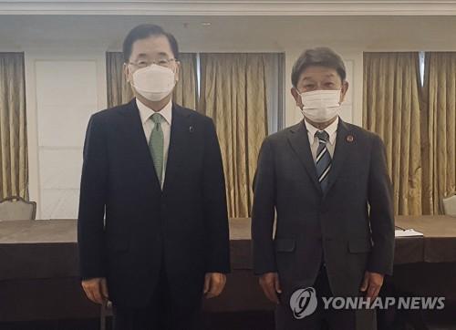 韩日外长会谈