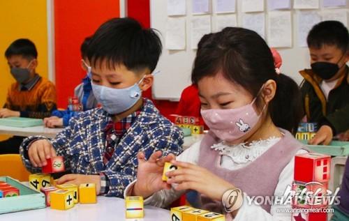 朝鲜幼儿园复课