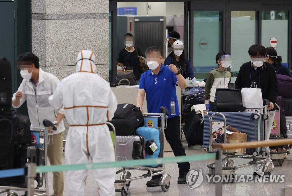 韩国第二架印度撤侨航班接回203名公民