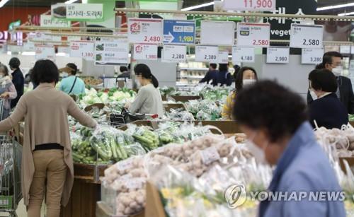 详讯:韩国5月CPI同比上涨2.6%