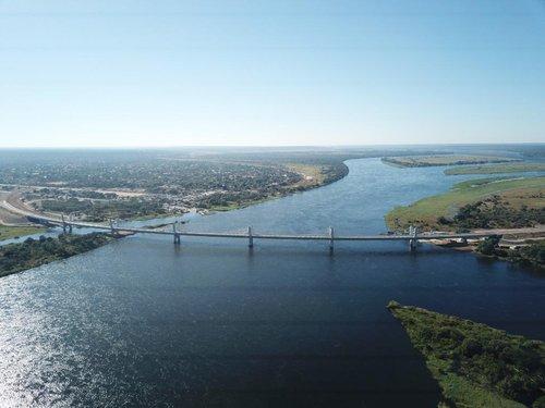 大宇建设承建的非洲南部大桥竣工