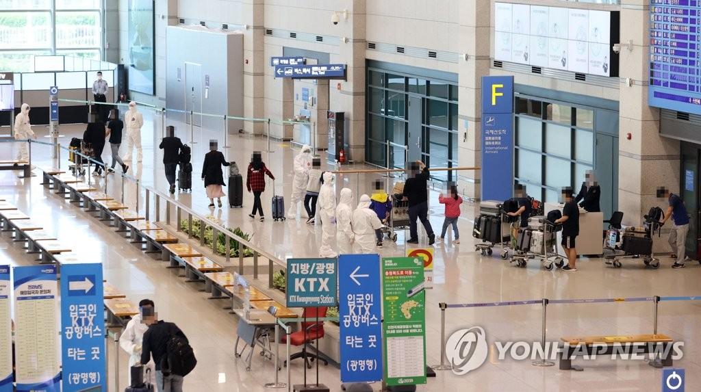 第四批旅印韩侨182人回国