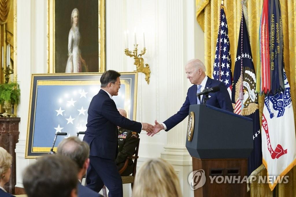 文在寅在SNS发文评价韩美首脑会谈结果