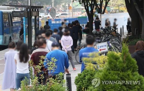 简讯:韩国新增681例新冠确诊病例 累计142157例